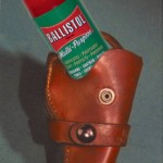 Leather holster care