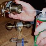 loosen locks and padlocks